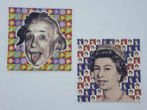 Buy Queen Elizabeth And Albert Einstein Acid Sheets   Queen Elizabeth   Order Queen Elizabeth And Albert Einstein Acid Sheets   Queen Elizabeth And Albert Einstein Acid Sheets Online